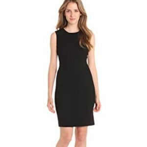 Calvin Klein Black Sleeveless Sheath Dress